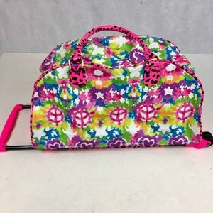 91553cc244 Justice Accessories - Justice Girl s Medium Rolling Duffle Bag